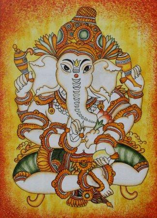 Want kerala mural trace designs indusladies for Mural painting designs