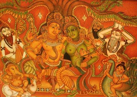 Want Kerala Mural Trace Designs Indusladies
