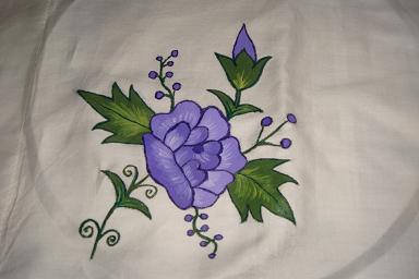 prispillow.JPG & Paintings : Fabric Painting \u0026 Stencil Work on Bedsheets Pillow ... pillowsntoast.com