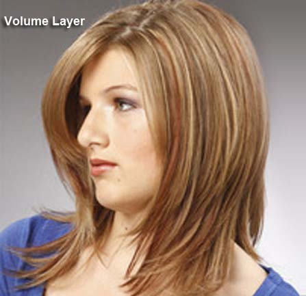 Hairstyles For Short Hair With Less Volume : Different haircuts,Layered hair styles(with pictures) Indusladies