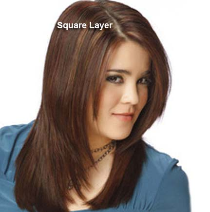 Different Style Haircuts : Indian Layered Haircut Different haircuts , layered hair styles(with ...
