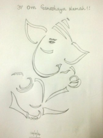 Ganesha sketch jpg