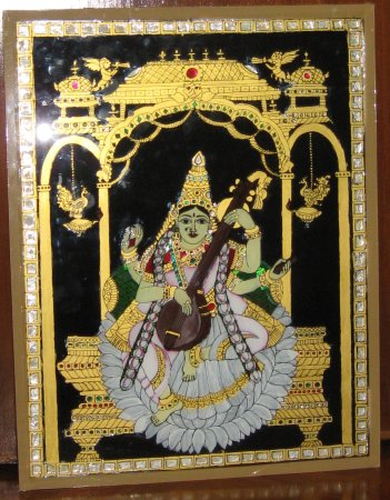 Hand painting tanjore glass instructions indusladies for Pebeo vitrea 160 glass paint instructions