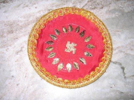Navarathri golu varamahalakshmi decoration page 2 for Arathi thattu decoration