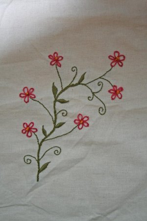Hand Embroidery Simple Designs  Indusladies