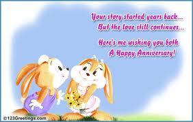 Advance wedding anniversary wishes to our friend sheshin indusladies imagesg m4hsunfo