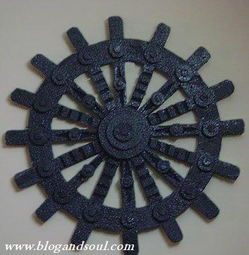 Craft Works Thermocol Crafts Wheel Balganesha Indusladies