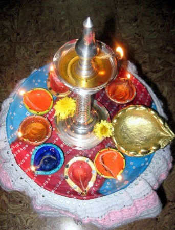 Karthigai special- Deepam deco   Indusladies