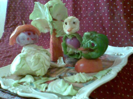 Easy Ideas For Salad Decoration Indusladies