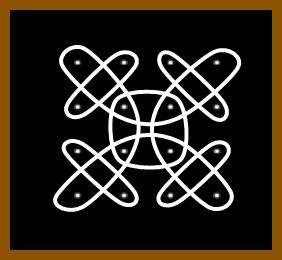 4 X 4 Dots Kolams Indusladies