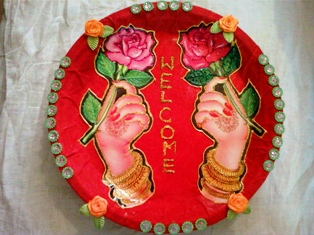 AR9.jpg & decorative aarthi plate | Indusladies