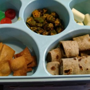 Preschooler lunch box