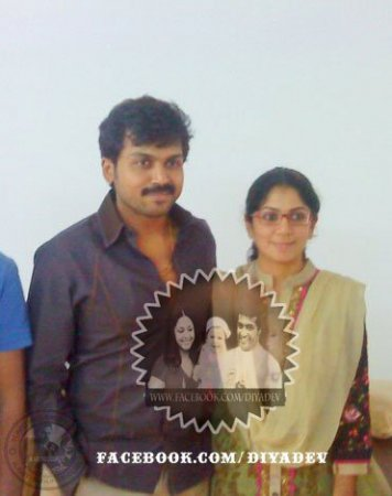 Actor Karthi and ranjani is blessed with girl baby today