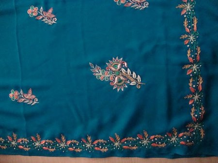 Free Hand Embroidery Designs For Sarees Border Image Collections