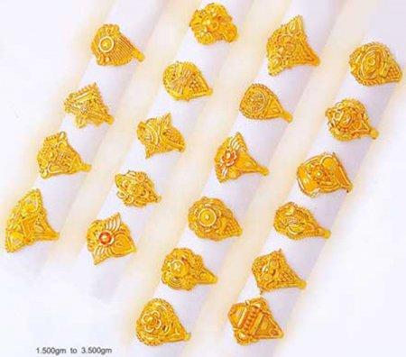 Gold Rings Part 2 ain designer jemstones