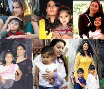 Working Bollywood Model Moms Who Look Good and Stay Fit