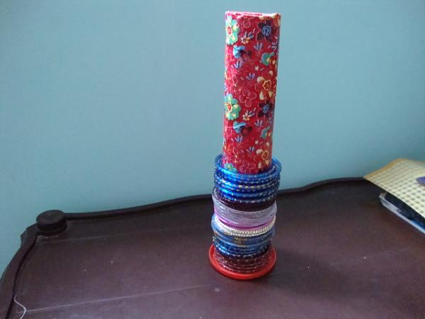 Best Out Of Waste – Bangle Stand Tutorial