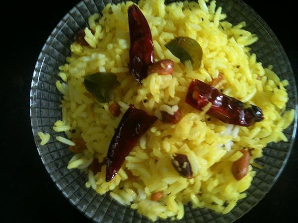 Raw Mango Pulihora Rice