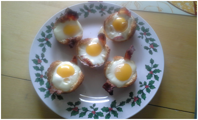 Egg and Bread Cups