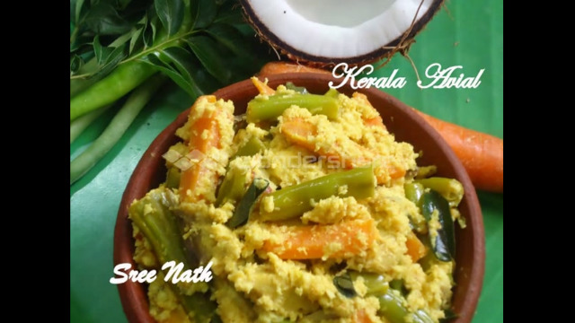 Traditional Kerala Avial for Onam