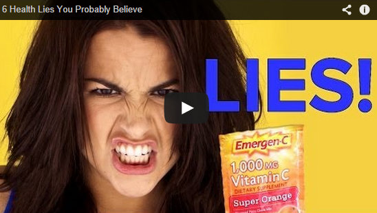 6 Health Lies you probably believe
