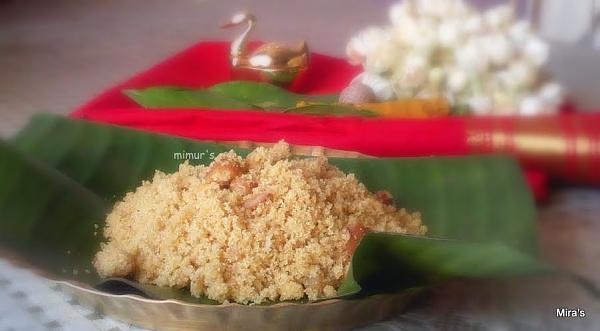 Sweet Rice Puttu