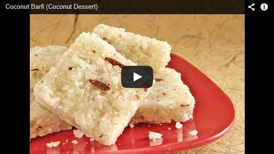 Make amazing Coconut Barfi at Home