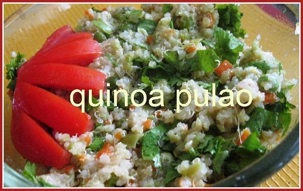 Quinoa Pulao | Thinai Pulao | Foxtail Millet Recipe