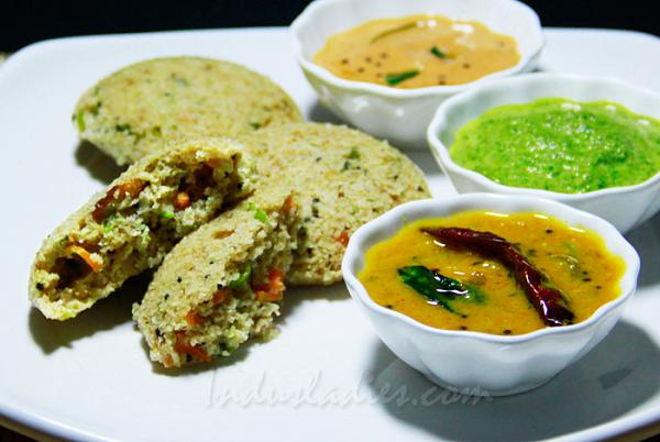 Oats Broken Wheat | Dalia Idli