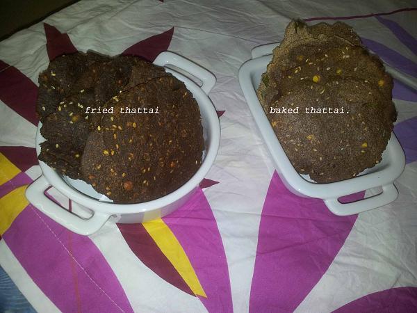 Ragi Thattai   Finger Millet Recipe