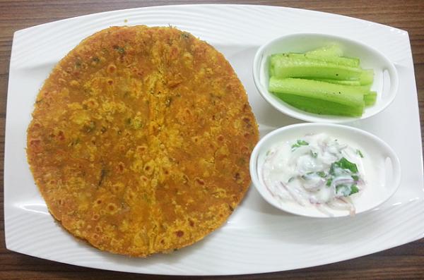 Oats Masala Roti | Paratha