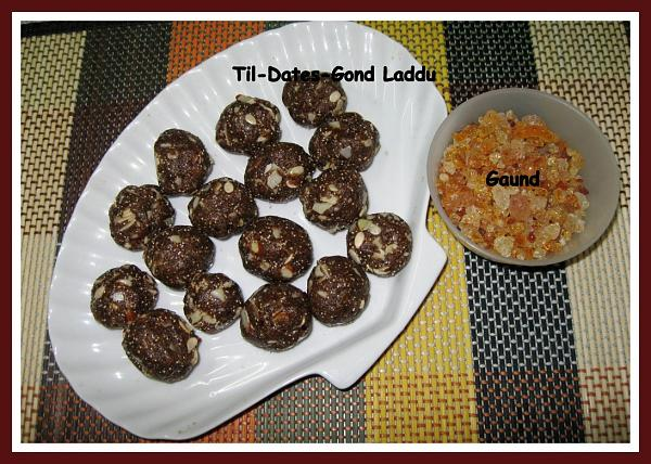 Dates and Til Seeds Ladoo