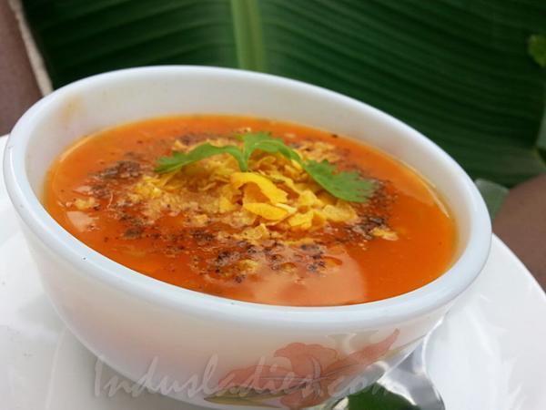 Tomato Veggie Soup