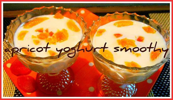 Apricot Yogurt Smoothie