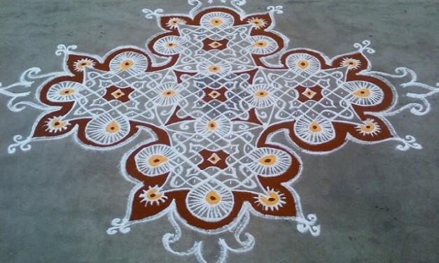 Special Pongal Kolam Designs